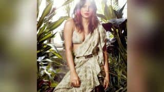 Watch: Priyanka Chopra Shoots For A Sexy Magazine Cover Wearing a Saree