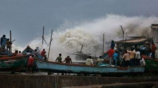 Cyclone Vayu Spares Gujarat, Moves Towards Oman