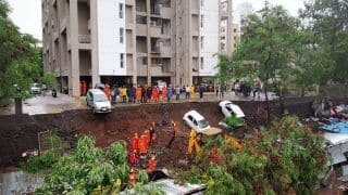 Pune: 17 Killed After Residential Complex Wall Collapses Due to Rains; Rs 5 Lakh Promised to Kin of Dead