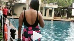 Video: गीले बाल, स्मोकी अंदाज, कातिलाना चाल में गर्मी को बॉय-बॉय करके स्वीमिंग करने निकली रानी चटर्जी