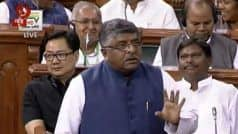 IT Act Has Adequate Provisions to Deal With Hacking, Spyware: Ravi Shankar Prasad Informs Lok Sabha