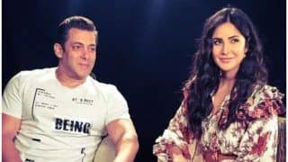 Salman Khan Wishing Katrina Kaif Through Old School Romance Picture Speaks Volumes About Their Bond