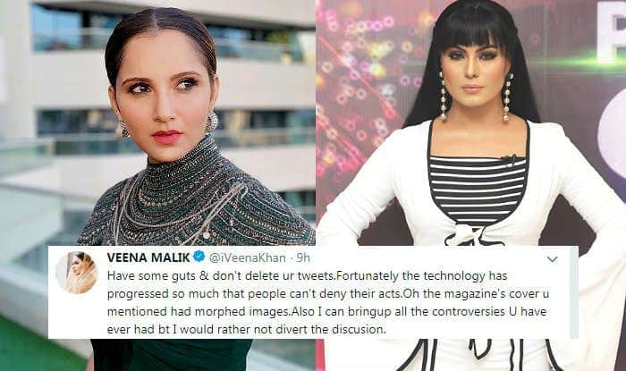 Veena Malik And Sania Mirza's Ugly Spat on Twitter Involves Personal