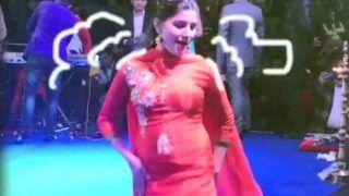 Video: सपना चौधरी ने लाल सूट में किया गदर डांस, 'गोली चल जावेगी...'