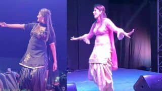 Sapna Choudhary Performs in Muradabad, Complaint Filed For Alleged Obscenity on Stage