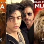 Shah Rukh Khan And Son Aryan Khan Reunite After 15 Years For The Lion King as Mufasa And Simba