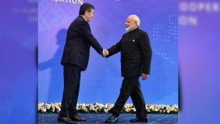 PM Narendra Modi Meets Kyrgyzstan President Sooronbay Jeenbekov Ahead of SCO Summit