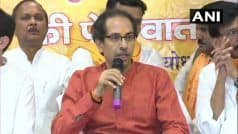 When Govt Decides to Build a Temple, no One Will be Able to Stop it: Uddhav in Ayodhya