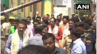 शिवसेना प्रमुख उद्धव ठाकरे अयोध्या पहुंचे, पार्टी सांसदों के साथ रामलला के दर्शन किए