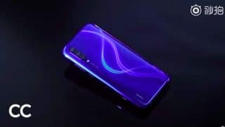 Xiaomi ने अपकमिंग Mi CC9 स्मार्टफोन के Blue Color वेरिएंट को किया टीज, दिखाई दिया ट्रिपल कैमरा डिजाइन