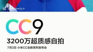 Xiaomi Mi CC9 to come with 32MP selfie camera, advanced Beauty mode on July 2