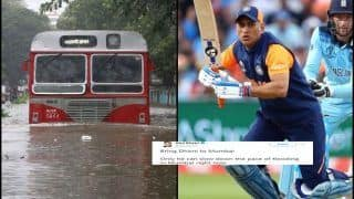 'Bring MS Dhoni Back From ICC Cricket World Cup 2019', Indian Comedian Wins Applause as he Comes up With Solution of How Mumbai Floods Can be Stopped | SEE POST