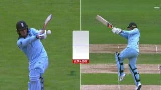 Jason Roy Dismissal Stirs Controversy After Kumar Dharmasena's Wrong Decision During ICC Cricket World Cup 2019 Semi-Final 2 Between Australia-England | WATCH VIDEO