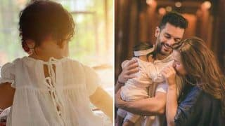 Neha Dhupia-Angad Bedi's Baby Girl Mehr Dhupia Bedi Turns Eight Months, Mother Shares Adorable Picture of 'Little Miss Sunshine'