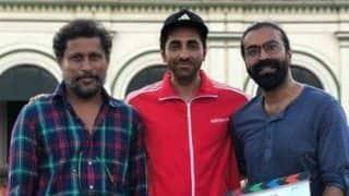 Ayushmann Khurrana Wraps up Shoojit Sircar's Gulabo Sitabo, Shares Pictures With Team