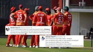 ICC Suspends Zimbabwe Cricket With Immediate Effect For Breach of Constitution, Twitter is Heartbroken | SEE POSTS