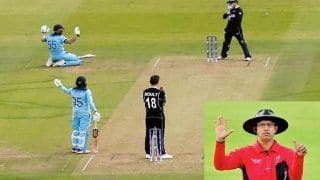 ICC Comes Out in Defence of Kumar Dharmasena's Controversial Overthrow Call Involving Ben Stokes, Martin Guptill in Final of ICC World Cup 2019