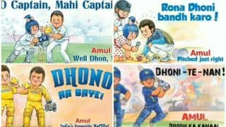 Happy Birthday MS Dhoni: Amul Pays Heartfelt Tribute to Captain Cool as he Turns 38 And it is The Best Thing on Internet Today | WATCH VIDEO