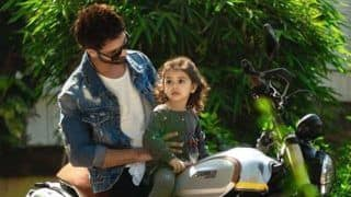Shahid Kapoor, Mira Rajput's Daughter Misha Kapoor Holds Daddy Tight as They go Out Grocery Shopping