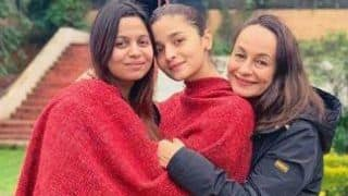 Alia Bhatt Shares Adorable Picture With Sister Shaheen Bhatt And Mother Soni Razdan From Ooty