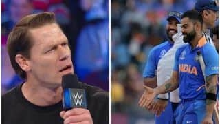 WWE Star John Cena Shows His Love For Virat Kohli With a Cryptic Instagram Picture Ahead of 2019 ICC World Cup 2019 Semi-Final 1 Between India vs New Zealand | SEE POST