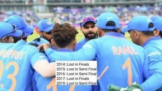 Virat Kohli-Led Team India Emerged as 'New Chokers' of World Cricket in ICC Tournaments, Stats Reveal How; Fans Agree to The Fact | SEE POSTS