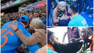 Rohit Sharma, Virat Kohli Meet Daadi After India Beat Bangladesh in 2019 ICC World Cup to Reach Semi-Finals is Unmissable | WATCH VIDEO