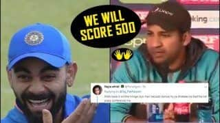 Sarfaraz Ahmed TROLLED Again After Press Conference Ahead of Pakistan vs Bangladesh 2019 ICC CWC, Says 'We Will Try to Score 500' | WATCH VIDEO