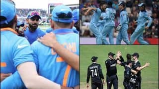 Australia, New Zealand or England; Who Will Virat Kohli-Led Team India Play in 2019 ICC Cricket World Cup Semi-Finals?