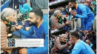 Virat Kohli's Heartfelt Message For 87-Year-Old Charulata Patel After India Beat Bangladesh to Reach Semi-Finals in 2019 CWC Will Give You Goosebumps | SEE POST