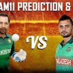Dream11 Team Prediction Pakistan vs Bangladesh ICC Cricket World Cup 2019 - Cricket Prediction Tips For Today's World Cup Match PAK vs BAN at Lord's, London
