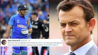 Adam Gilchrist Weighs in on MS Dhoni Retirement Debate, Praises Captain Cool After he Nearly Pulls Off a Miracle During ICC Cricket World Cup 2019 Semi-Final 1 Against New Zealand | SEE POST