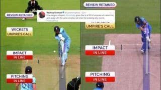 Indian Journo Highlights Inconsistency in Kohli-Roy LBW Decisions, Fans Agree