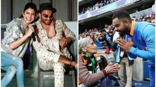 Anushka Sharma, Ranveer Singh React on Virat Kohli's Heartfelt Message For 87-Year-Old Fan After India Beat Bangladesh to Reach 2019 ICC CWC Semi-Finals | SEE POSTS