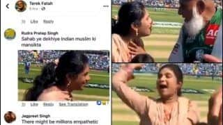 India Woman Chanting 'Pakistan Zindabad' With Cricket Chacha During ICC Cricket World Cup 2019 Goes Viral | WATCH VIDEO