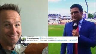 Michael Vaughan Accuses Sanjay Manjrekar of Blocking Him on Twitter After 'Bits & Pieces' Comment Ahead of ICC Cricket World Cup 2019 Semi-Final 1 Between India-New Zealand | SEE POST