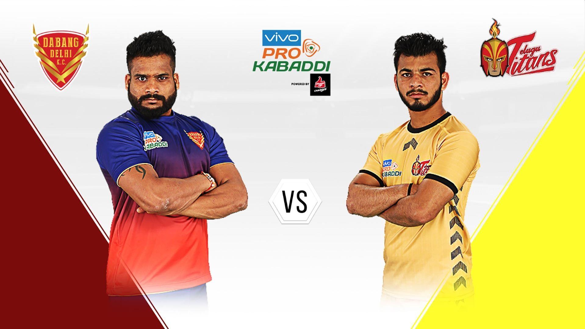 Highlights Pro Kabaddi League 2019 Telugu Titans Vs Dabang