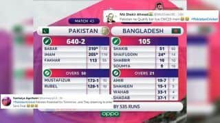 'Optimistic' Pakistan Fans Come up With Scorecard of Bangladesh 2019 ICC Cricket World Cup Match And it Has Become a Viral Meme | SEE POSTS