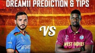 Dream11 Team Afghanistan vs West Indies ICC Cricket World Cup 2019 – Cricket Prediction Tips For Today's World Cup Match AFG vs WI at Headingley, Leeds