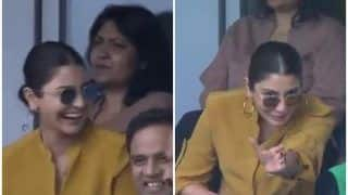 Anushka Sharma Reacts 'Is it Four or Single' During India vs Sri Lanka ICC Cricket World Cup 2019, Video Goes Viral | WATCH VIDEO