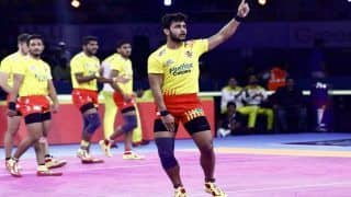 Highlights, UP Yoddha vs Gujarat Fortunegiants Pro Kabaddi League 2019 Scores And Updates, Match 10: Rohit, Sachin Fire as Fortunegiants Thrash UP 44-19