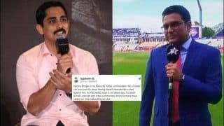 Actor Siddharth Slams Sanjay Manjrekar, Calls His Commentary 'Terrible, Partisan And Crass' Ahead of India's ICC World Cup 2019 Semi-Final 1 Against New Zealand | SEE POST