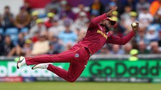 Fabian Allen Taken Brilliant Catch During West Indies vs Afghanistan 2019 ICC Cricket World Cup Match | WATCH VIDEO