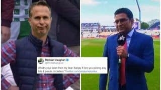 Michael Vaughan-Sanjay Manjrekar Twitter War Over 'Bits And Pieces' Comment Ahead of India vs New Zealand ICC Cricket World Cup 2019 Semi-Final 1 is Unmissable | SEE POSTS