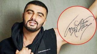 Arjun Kapoor's 'Per Ardua Ad Astra' Tattoo Goes Viral