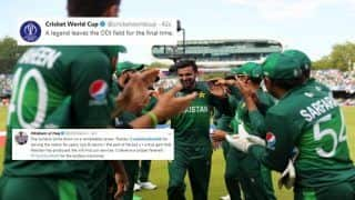 Shoaib Malik Announces Retirement After Pakistan Fail to Qualify For 2019 ICC Cricket World Cup Semi-Finals, Twitter Thanks Legend | SEE POSTS