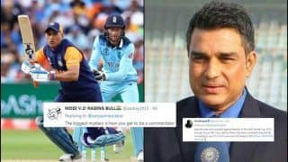 Sanjay Manjrekar TROLLED For Criticising MS Dhoni's Slow-Paced Innings During India vs England ICC Cricket World Cup 2019 | SEE POSTS
