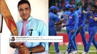 Sanjay Manjrekar TROLLED For Questioning Selection During ICC Cricket World Cup 2019 Semi-Final 1 Between India vs New Zealand | SEE POST
