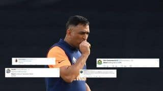 Despite Second Highest Strike-Rate, Fans Troll MS Dhoni For Slow Innings | SEE POSTS