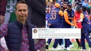 Michael Vaughan TROLLED For Predicting His Four ICC Cricket World Cup 2019 Semi-Finalists | SEE POSTS
